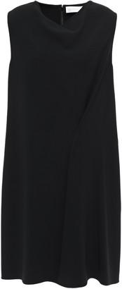 Victoria Beckham Draped Stretch-crepe Mini Dress