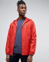 Patagonia Zipthru Hooded Jacket Nylon Light & Variable In Red