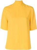 Joseph roll neck sweatshirt - women - Spandex/Elastane/Acetate/Cupro/Viscose - 36