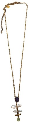 Gas Jeans Duality Gold Steel Long necklaces