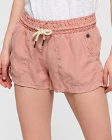 Superdry Linen Utility Shorts