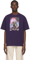 Acne Studios Purple Monster in My Pocket Edition Zombie T-Shirt