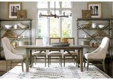 Universal Furniture Berkeley 3 Complete Chelsea Kitchen Table in Brownstone Finish