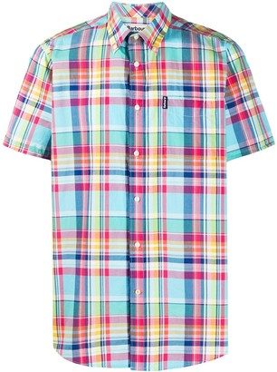 Barbour Checked Short-Sleeve Shirt