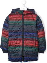 Paul Smith striped padded coat