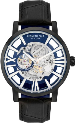 Kenneth Cole New York Men's Automatic Leather Strap Watch