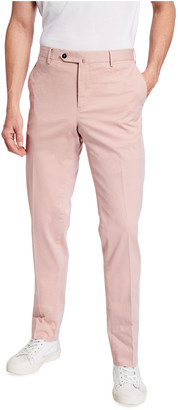 Pt Torino Men's Delave Stretch-Cotton Chino Pants