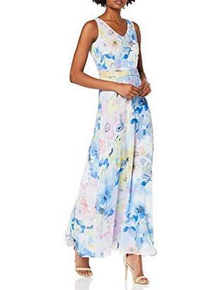 Comma Women's 8t.904.81.3030 Dress,14 (Size: )