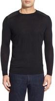 Bugatchi Men's Regular Fit Crewneck Sweater