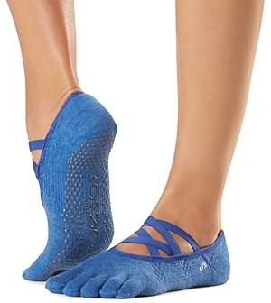 Toesox Elle Full Toe Grip Yoga Socks