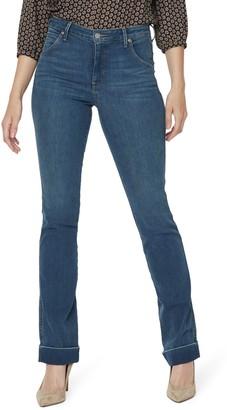 NYDJ Cuffed Slim Bootcut Jeans
