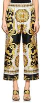 Versace Women's Baroque-Print Crop Pants