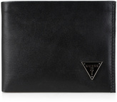 GUESS Black Passcase Leather Bifold Wallet