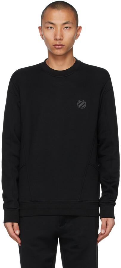 Thumbnail for your product : Ermenegildo Zegna Couture Black Logo Sweatshirt