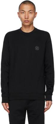 Ermenegildo Zegna Couture Black Logo Sweatshirt