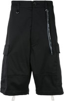 Mastermind World back straps cargo shorts