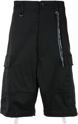 Mastermind World back straps cargo shorts