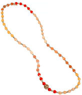 Kenneth Cole New York Citrus Slice Mixed Bead Long Necklace
