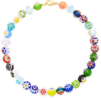 Millefiori Beck Jewels Beaded Anklet