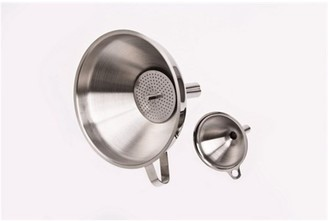 D.Line Stainless Steel Funnel with Strainer