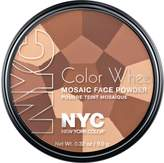 Coty N.Y.C. New York Color, Colour Wheel Mosaic Face Powder, All Over Bronze Glow, 0.32 Ounce