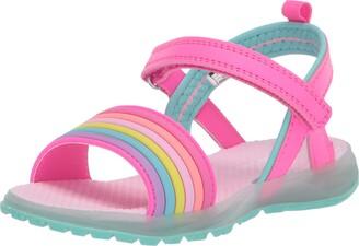 Carter's Girls' Nile Hook and Loop Light-up Sandal