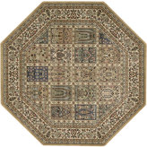 "Nourison MANUFACTURER'S Area Rug, Persian Arts BD01 Beige 5' 3"" Octagon"