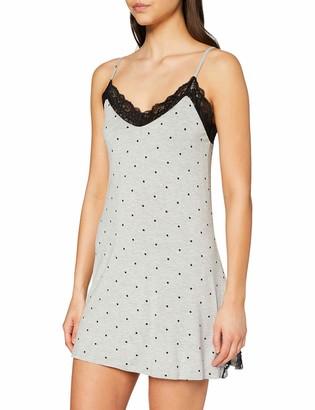 Pour Moi? Women's Spot Print Jersey Secret Support Chemise Nightgown