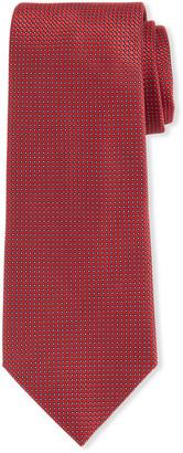 Giorgio Armani Men's Silk Dot Jacquard Tie