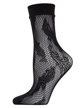Natori Plume Net Crew Socks