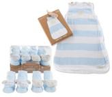 Baby Aspen Sweet Snuggles 2-Pack Socks & Wearable Blanket Set