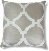The Piper Collection Reynolds Embroidered 22x22 Linen Pillow