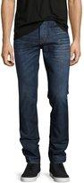 Hudson Sartor Slouchy-Skinny Jeans, Blue