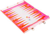 Sunnylife Backgammon Lucite Set