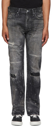 Neighborhood Black Bullet Savage Mid Jeans
