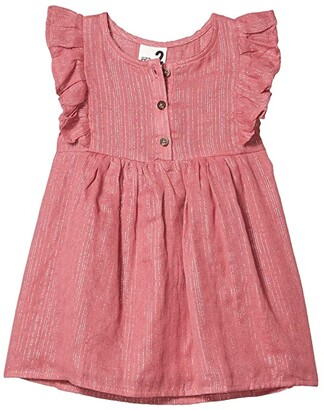 Cotton On Goldie Sleeveless Dress (Toddler/Little Kids/Big Kids) (Very Berry/Pink Sparkle Stripe) Girl's Clothing