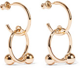 J.W.Anderson Pierce Gold-plated Hoop Earrings - one size