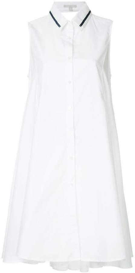 story. White Melvina backless dress