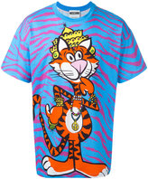 Moschino crowned tiger T-shirt - men - Cotton - XS