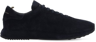 Officine Creative Suede Lace-Up Sneakers