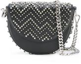Philipp Plein curved spike stud bag
