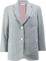 Thom Browne buttoned back blazer