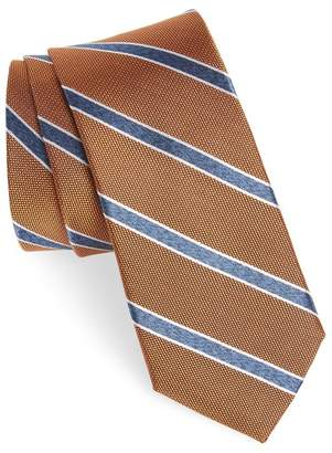 Nordstrom Fontana Stripe Silk Skinny Tie