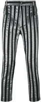 Haider Ackermann striped trousers - men - Cotton/Polyester/Spandex/Elastane - XS