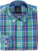 Tailorbyrd Plaid Dress Shirt (Big Boys)