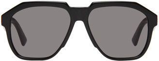Bottega Veneta Black Aviator Sunglasses