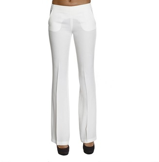 Ki6 Pants Pockets Halter Neck Flair