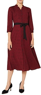 Hobbs London Cece Belted Shirtdress