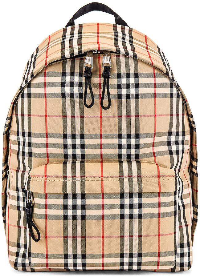 Burberry Jett Backpack in Archive Beige   FWRD