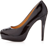 Dolce Vita Becky Patent Leather Platform Pump, Black